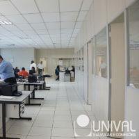 escritório da fábrica da Unival
